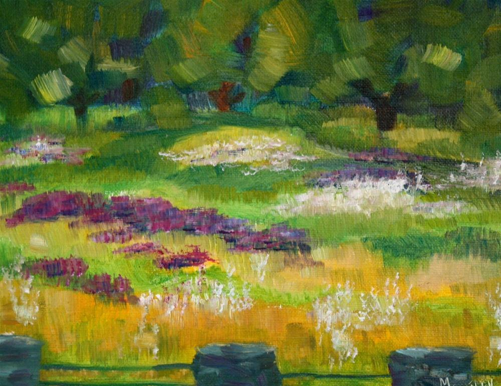 """""""New England Abstract"""" original fine art by Maggie Flatley"""