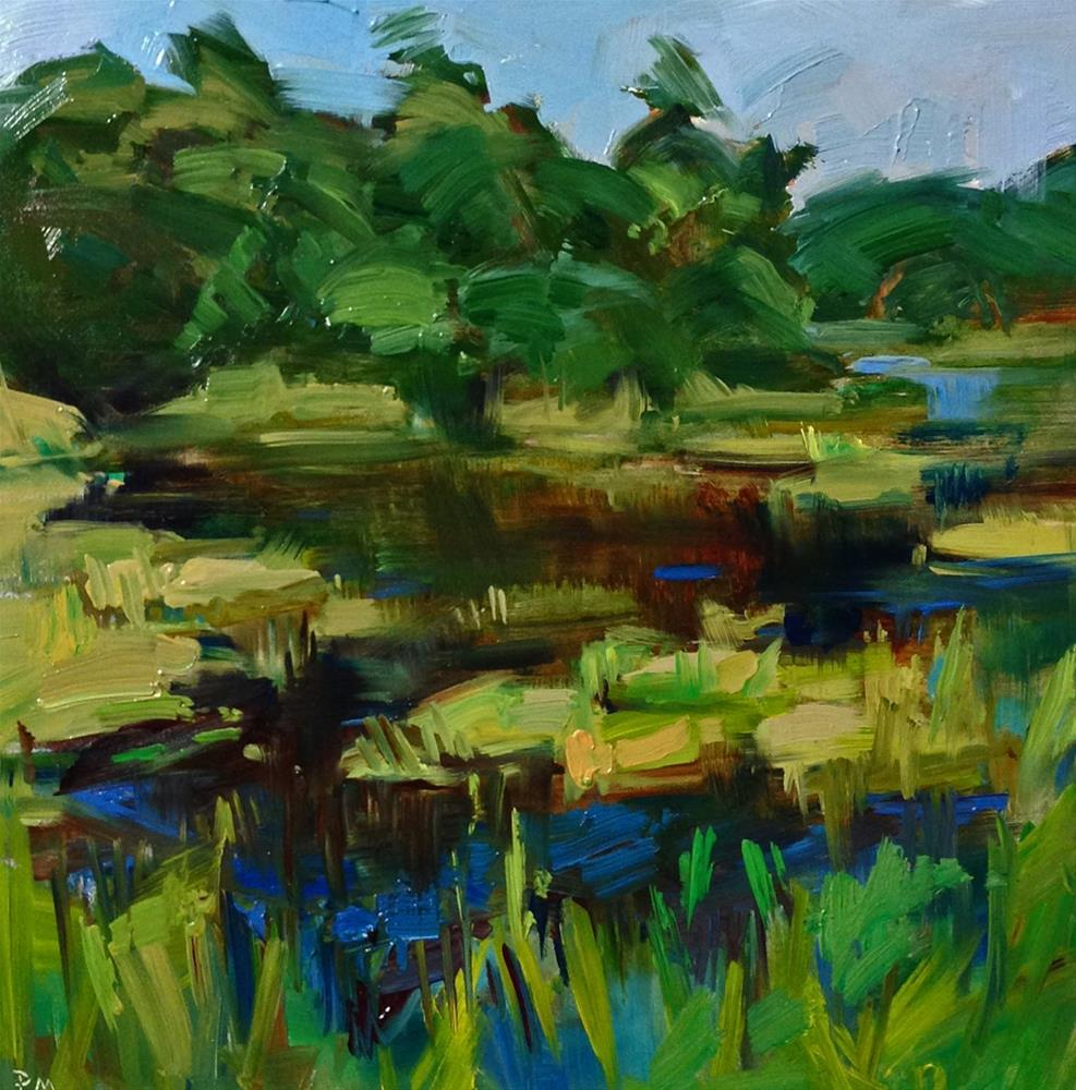 """Puget Sound Paradise"" original fine art by Patti McNutt"