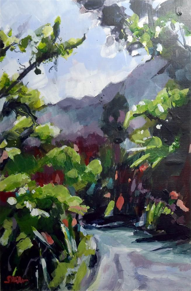 """2048 Road on La Réunion"" original fine art by Dietmar Stiller"