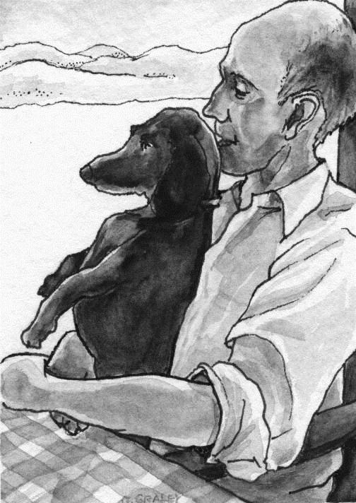 """""""Best Buddies"""" original fine art by Geri Graley"""