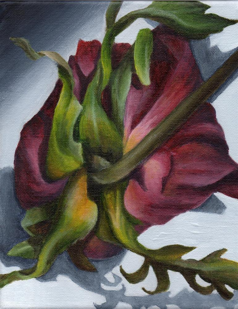 """Fading Memory"" original fine art by Debbie Shirley"