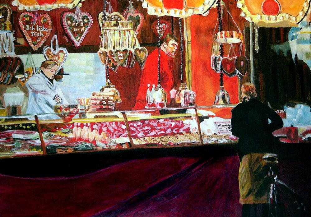 """So many Hearts"" original fine art by Ulrike Miesen-Schuermann"