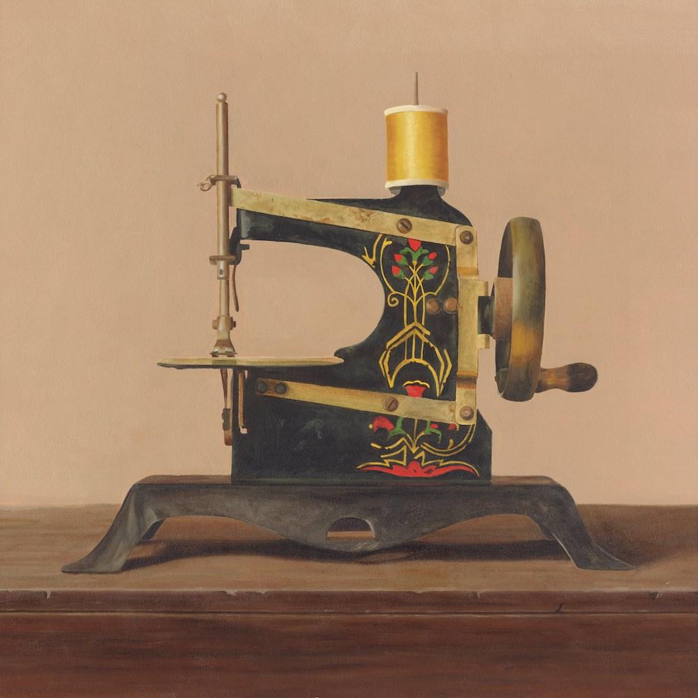 """My Grandmother's Sewing Machine"" original fine art by Susan Fern"