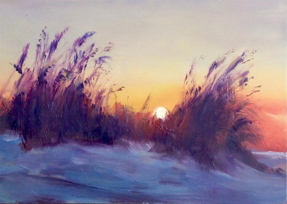 """SUN BREEZE"" original fine art by Doug Carter"