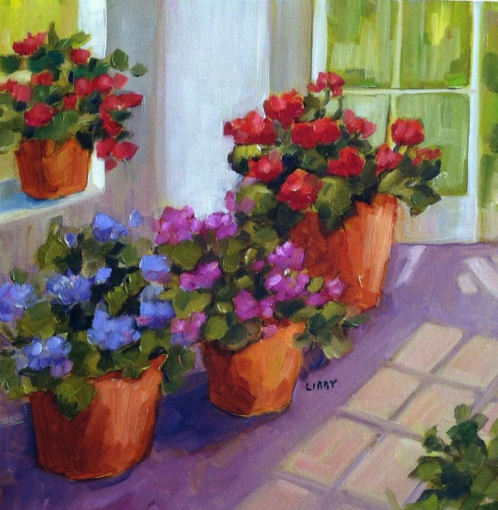 """Sun Room"" original fine art by Libby Anderson"
