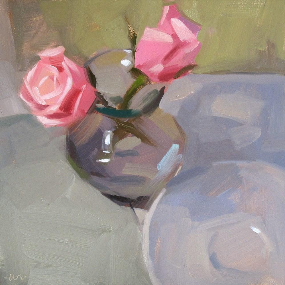 """Apart But Together"" original fine art by Carol Marine"
