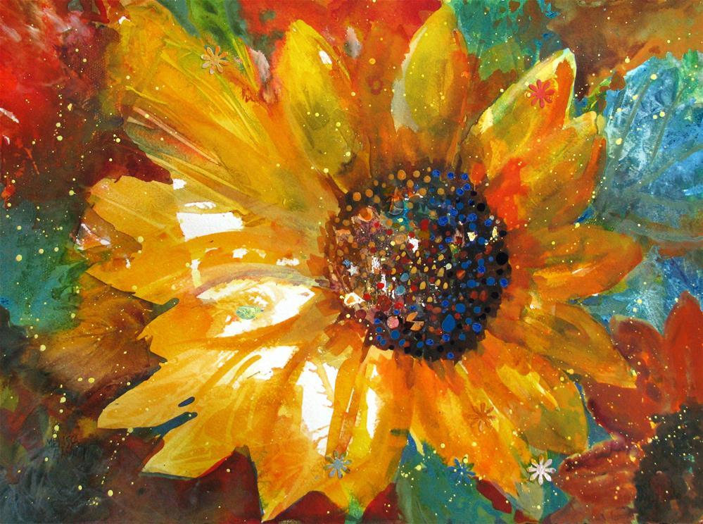 """""""Summer's Sparkle"""" original fine art by Melissa Gannon"""