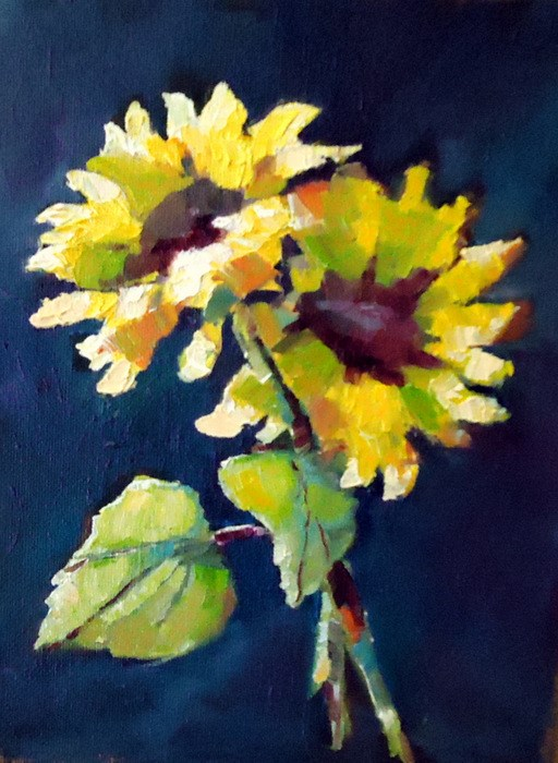 """""""Your Time to Shine"""" original fine art by Laurie Mueller"""
