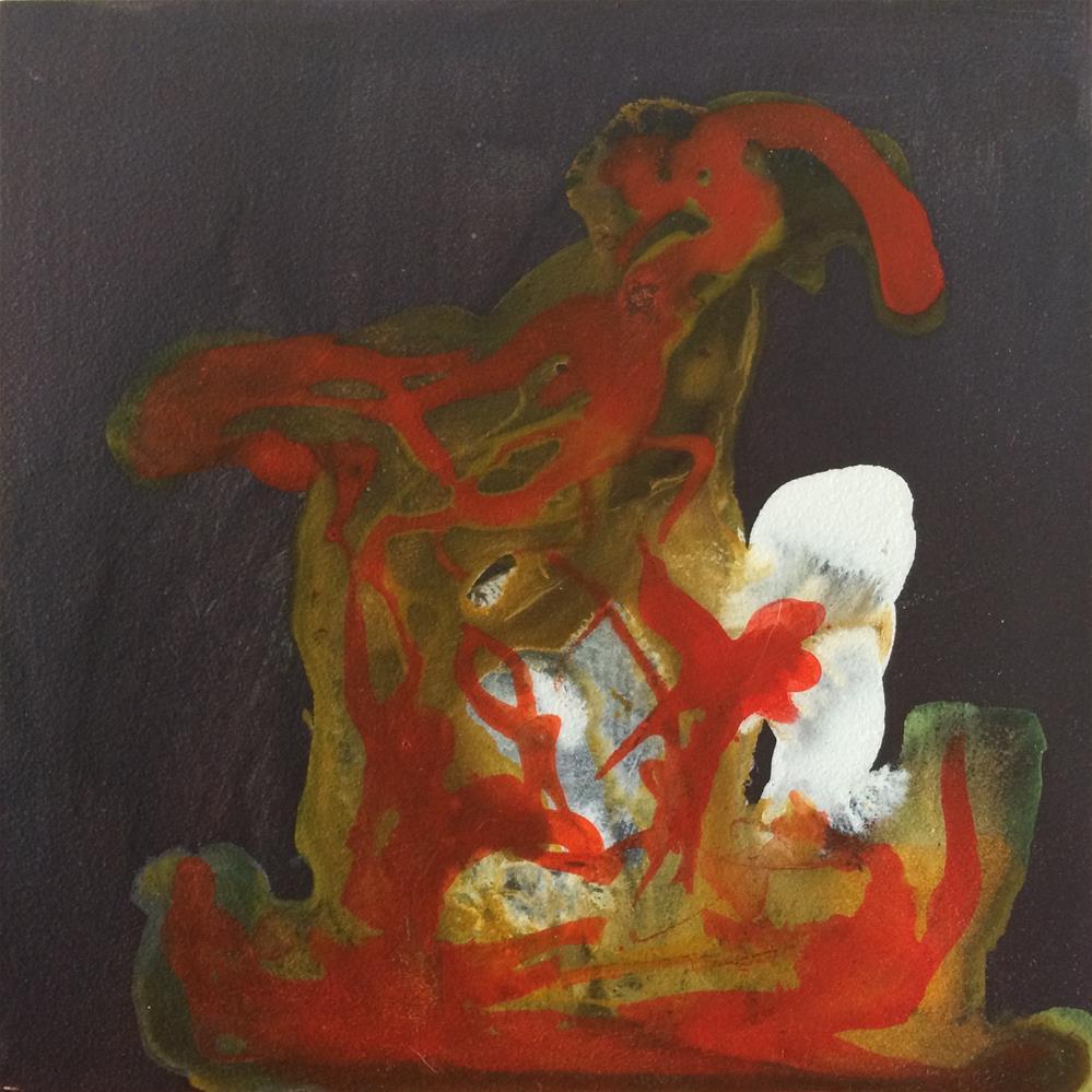 """""""Bunny"""" original fine art by Susan Medyn"""