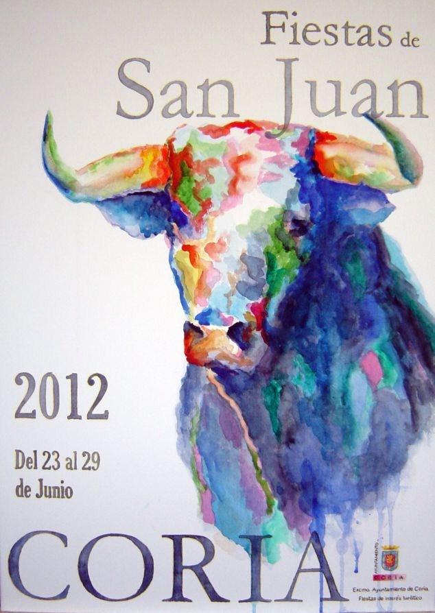 """""""Fiestas de San Juan 2012 b"""" original fine art by Eduardo Carpintero"""