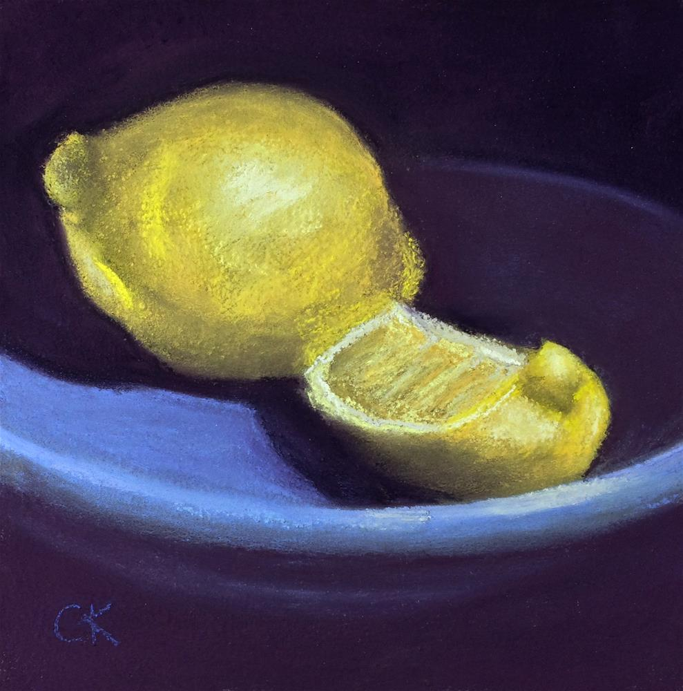 """When Life Hands You Lemons"" original fine art by Cristine Kossow"