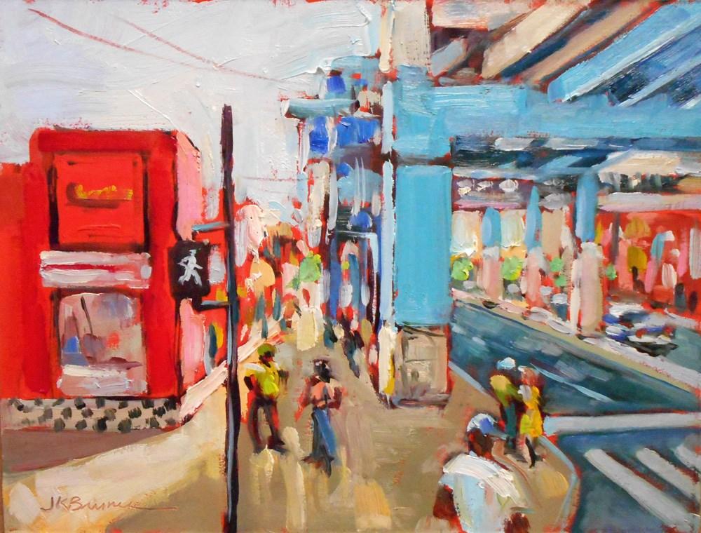 """""""52nd & Market"""" original fine art by Jeanne Bruneau"""