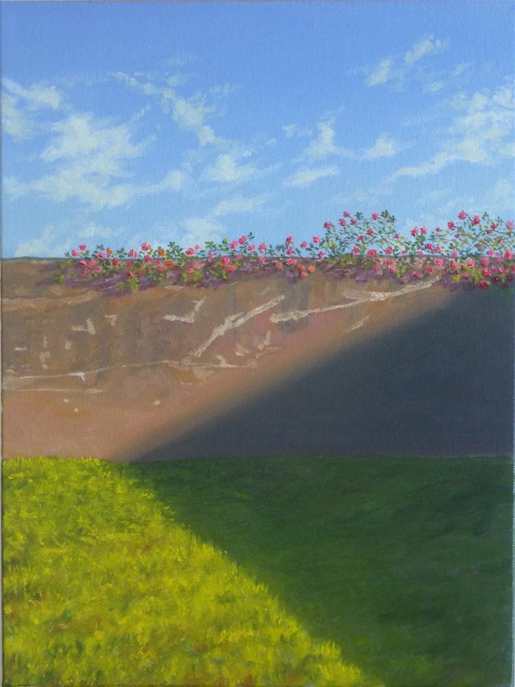 """Climbing Along"" original fine art by Peter Lentini"