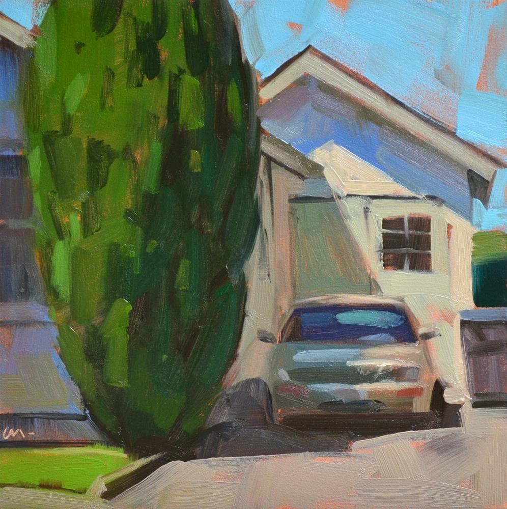 """""""Big Bush"""" original fine art by Carol Marine"""