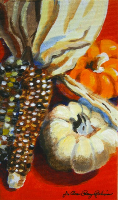 """The Last of the Fall"" original fine art by JoAnne Perez Robinson"