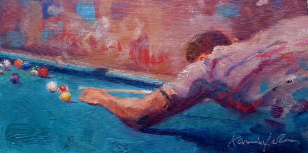 """""""The Shark"""" original fine art by Karen Weber"""