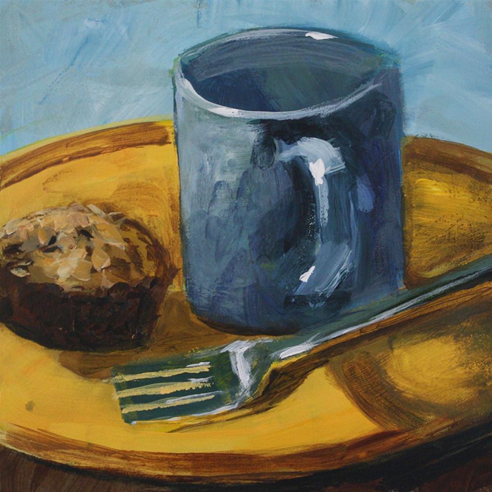 """Breakfast"" original fine art by Shannon Bauer"