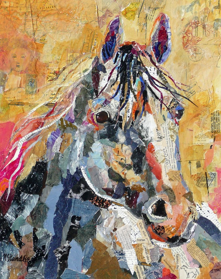 """Rocinante 11015"" original fine art by Nancy Standlee"