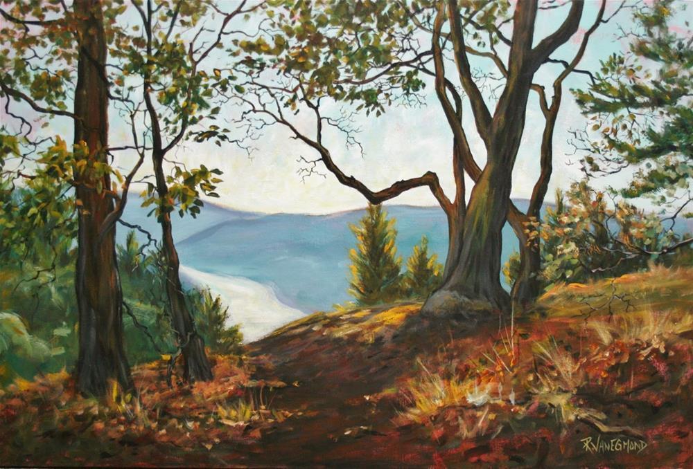 """""""Saanich Inlet view"""" original fine art by Ruth Van Egmond"""