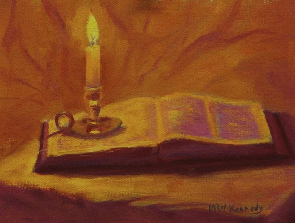 """""""Dwell in the Lord's House"""" original fine art by Michael Kennedy"""