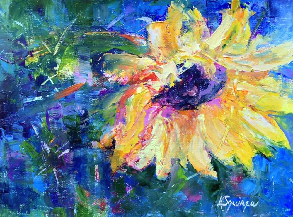 """""""Showgirl"""" original fine art by Kathleen Squires"""