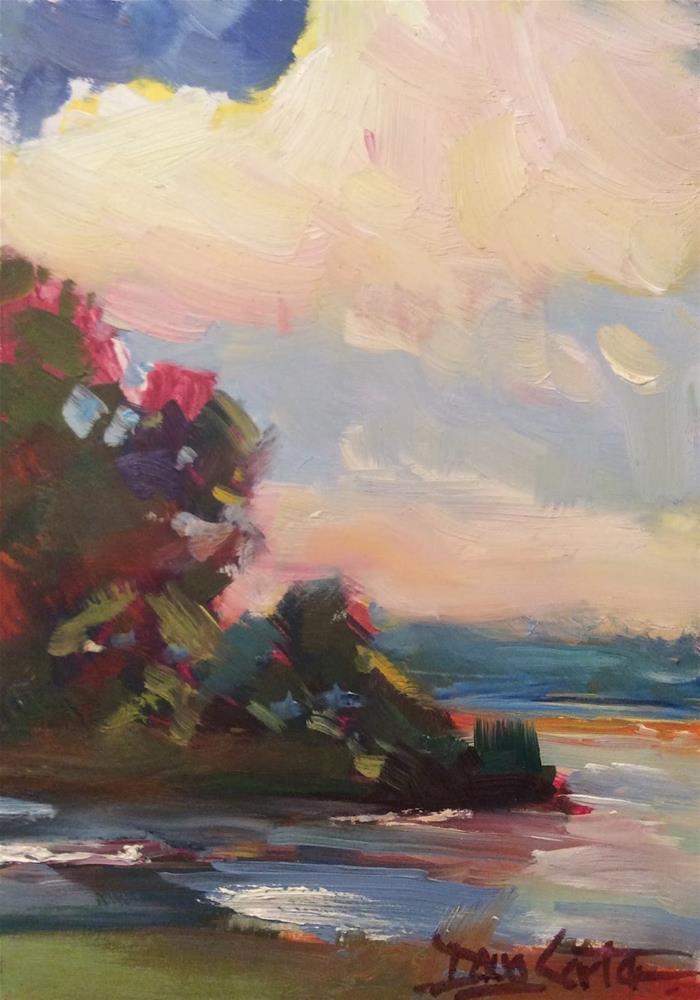 """"""" VIEW """" original fine art by Doug Carter"""