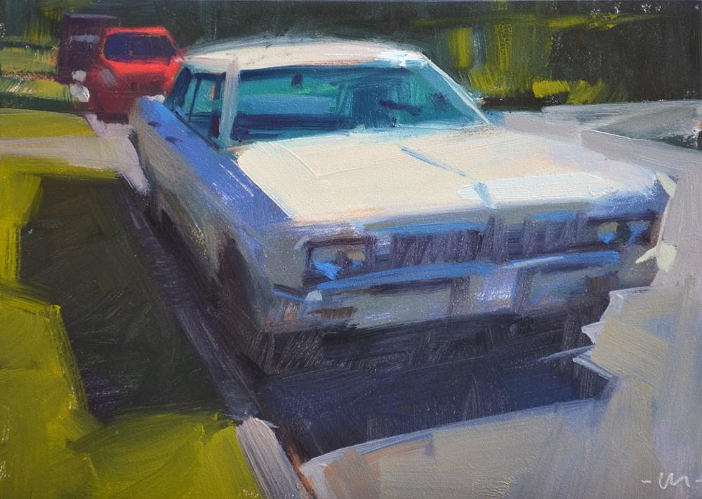 """Your Brother's Car"" original fine art by Carol Marine"