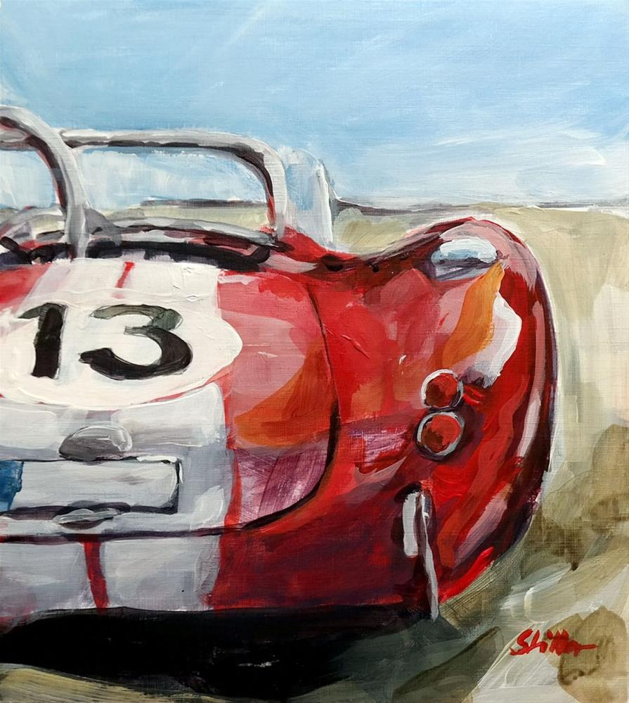 """""""1837 Number 13 Back"""" original fine art by Dietmar Stiller"""