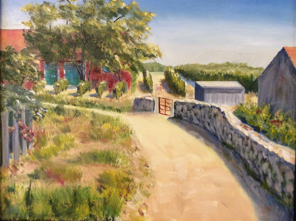 """""""Road to the past"""" original fine art by Kathy Marques"""