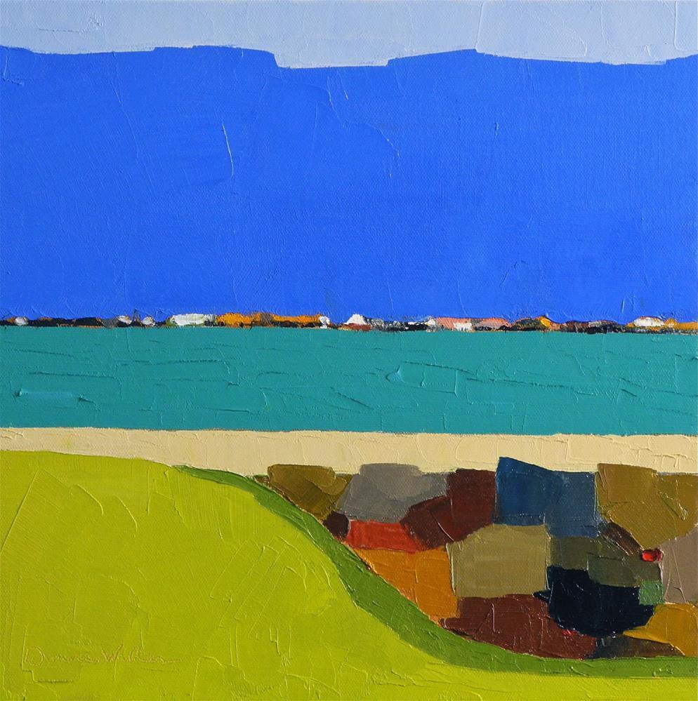 """Harbor"" original fine art by Donna Walker"