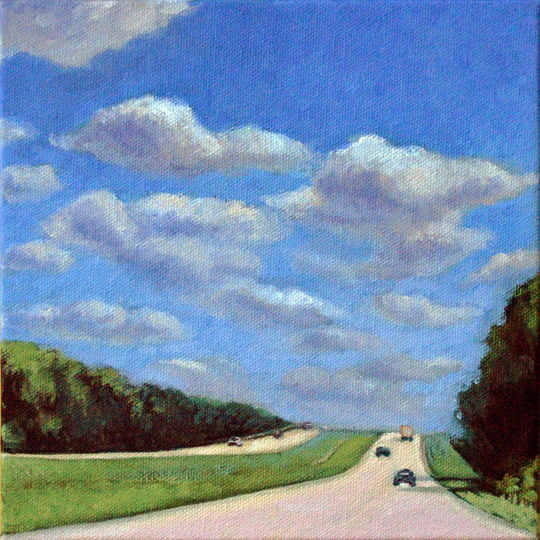 """Sunny Road Trip"" original fine art by Joanna Bingham"
