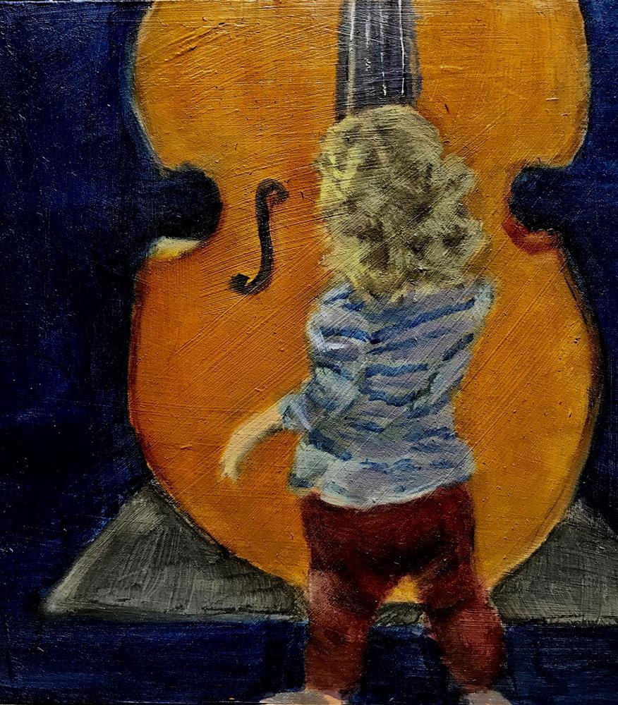 """what is this"" original fine art by Betty Argiros"