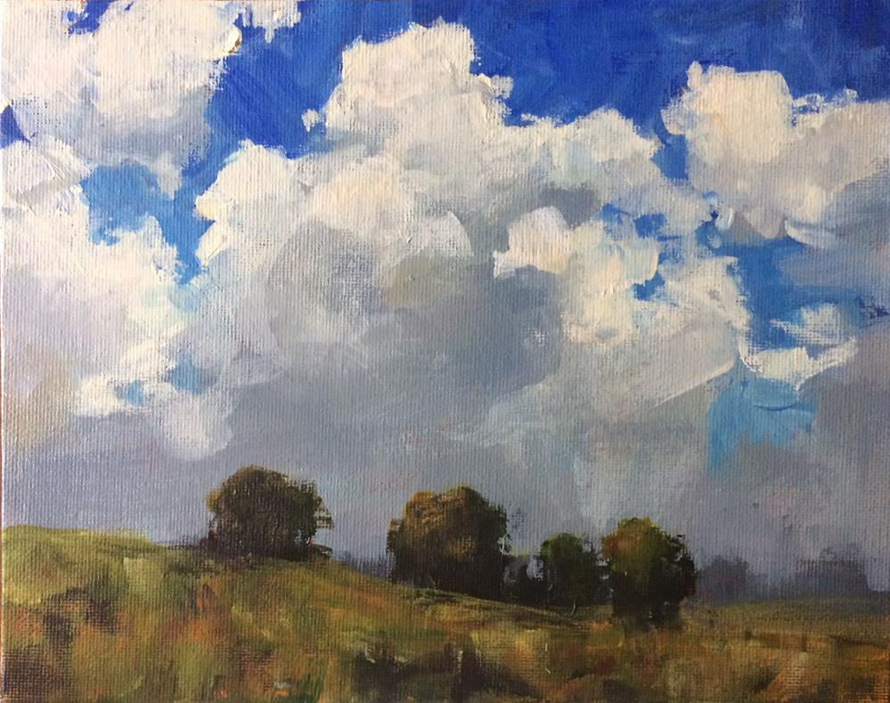 """Changing Weather"" original fine art by Shannon Bauer"