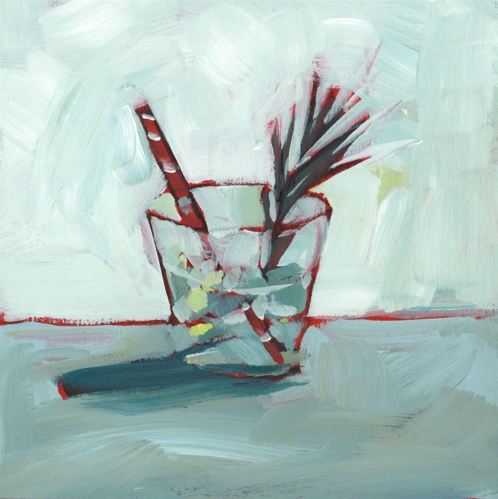 """1166: Cool Drink"" original fine art by Brian Miller"