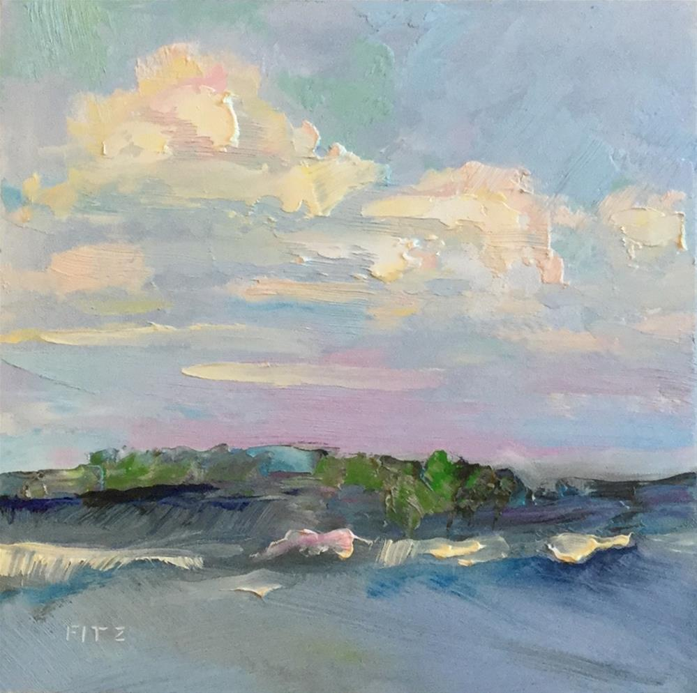 """Shimmering Afternoon"" original fine art by Charlotte Fitzgerald"