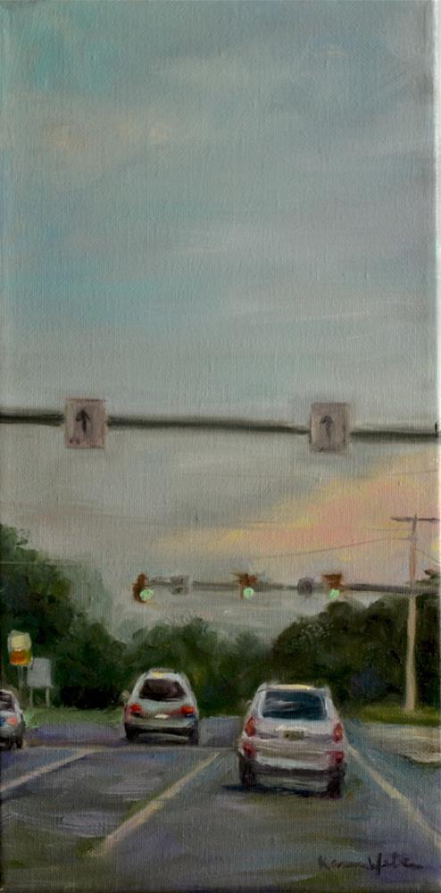 """422 & Shelbourne Avenue"" original fine art by Karen Weber"
