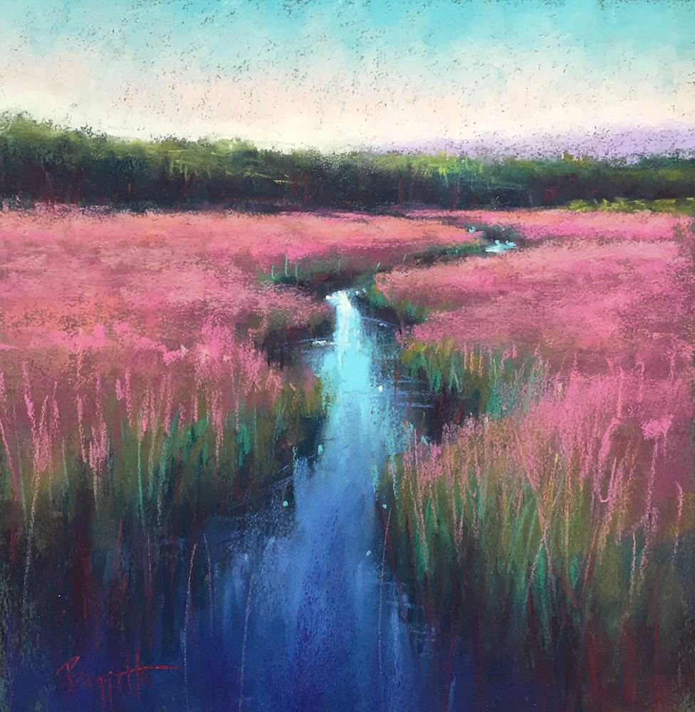 """""""Oaks Bottom"""" original fine art by Marla Baggetta"""