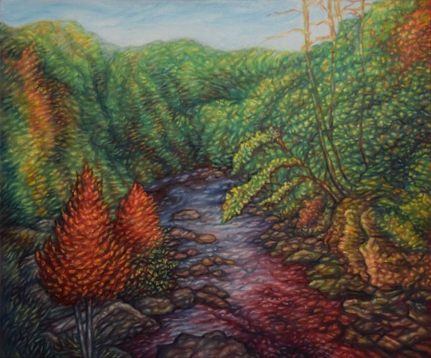 """""""Escape"""" original fine art by Lori Fredricks"""