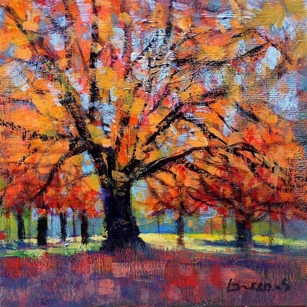 """My tree"" original fine art by salvatore greco"