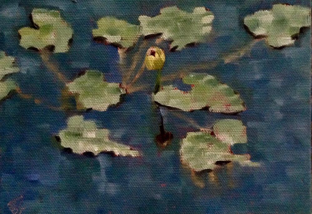 """Monet-ish"" original fine art by Bobbie Cook"