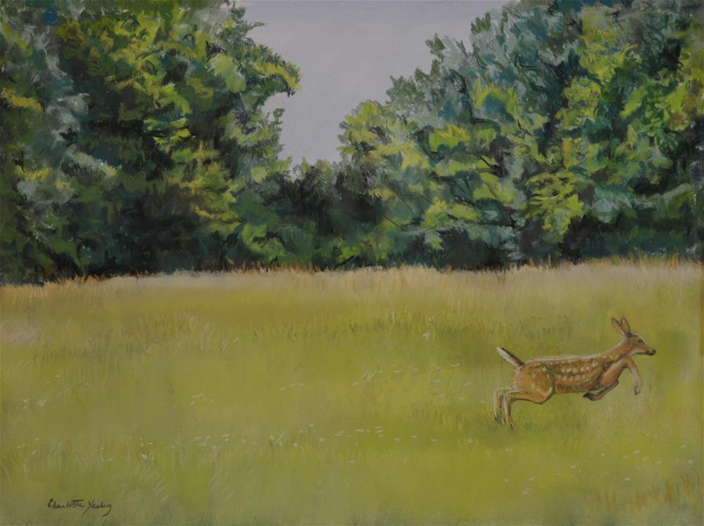 """Fleeting Moment"" original fine art by Charlotte Yealey"