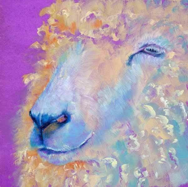 """Wooly Bully"" original fine art by Brenda Ferguson"