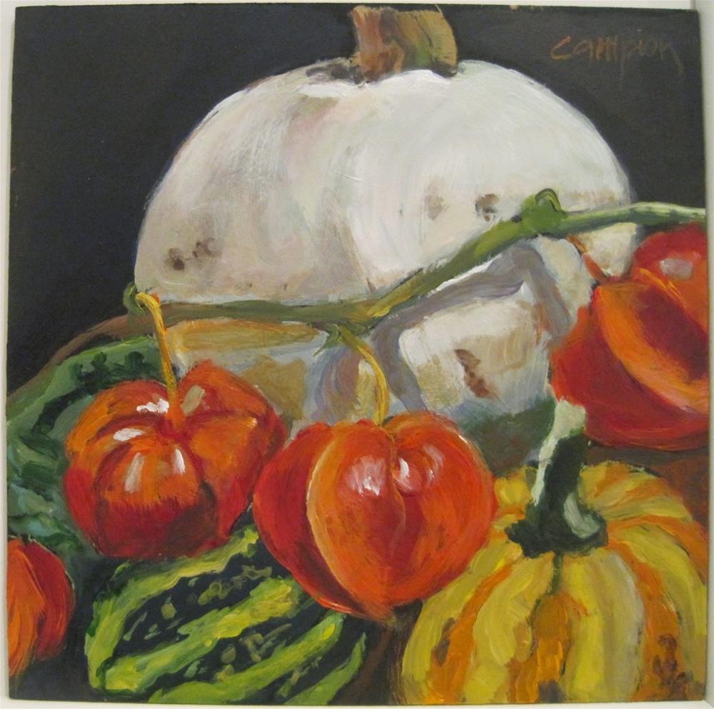 """481 Fall Centerpiece"" original fine art by Diane Campion"