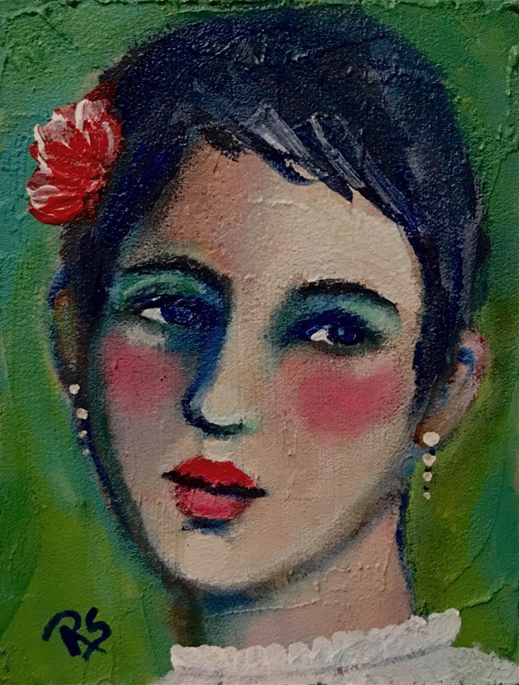 """Daphne"" original fine art by Roberta Schmidt"