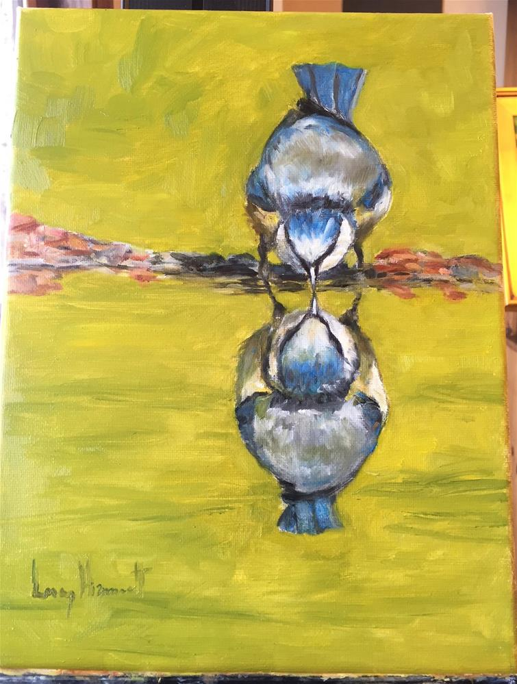 """""""Do You See What I See"""" original fine art by Lucy Hammett"""