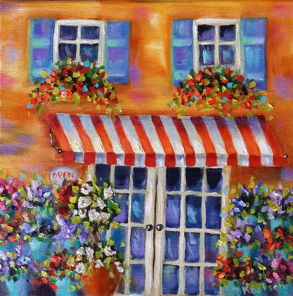 """Dreamy Shop"" original fine art by Bobbie Koelsch"