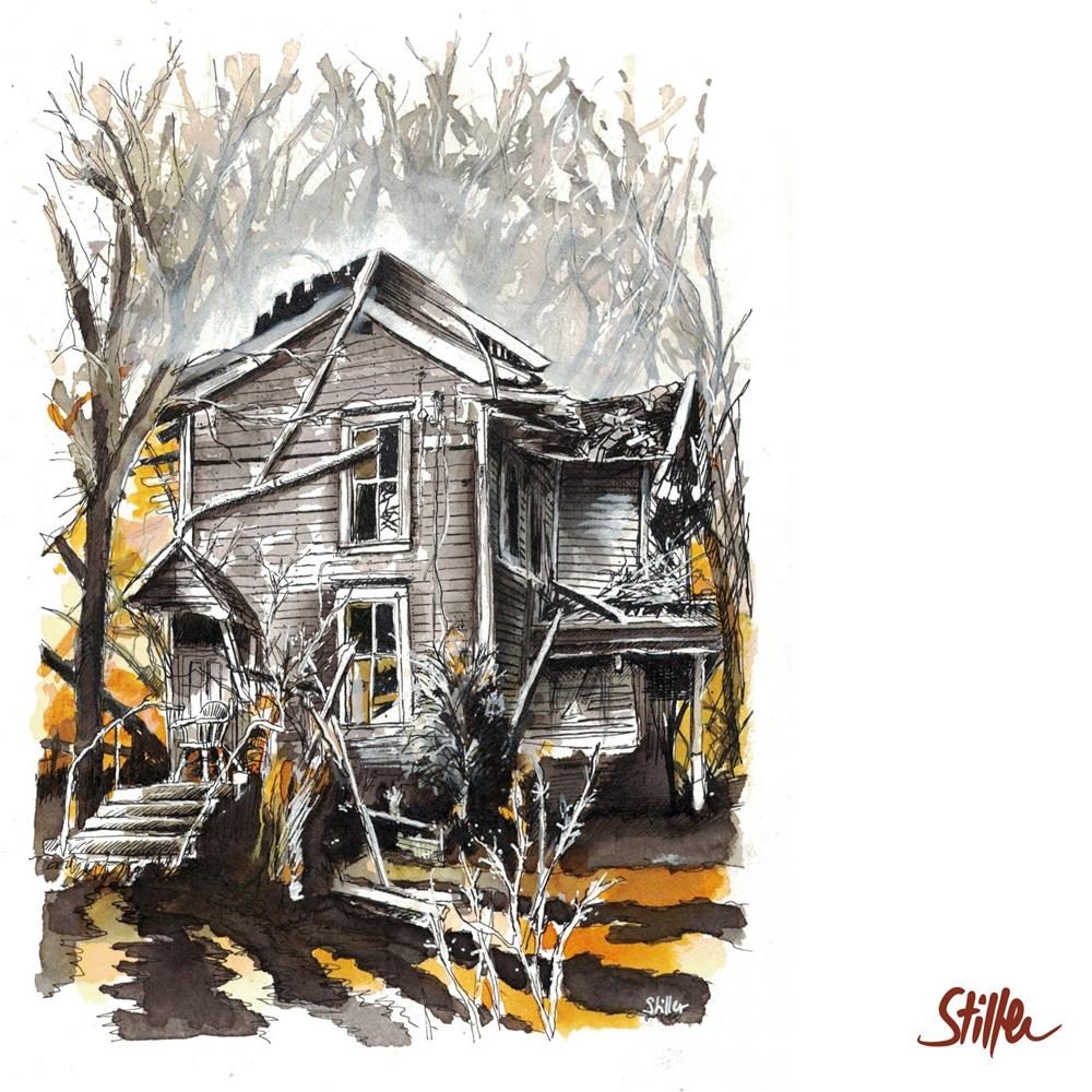"""3459 Haunted Place One"" original fine art by Dietmar Stiller"