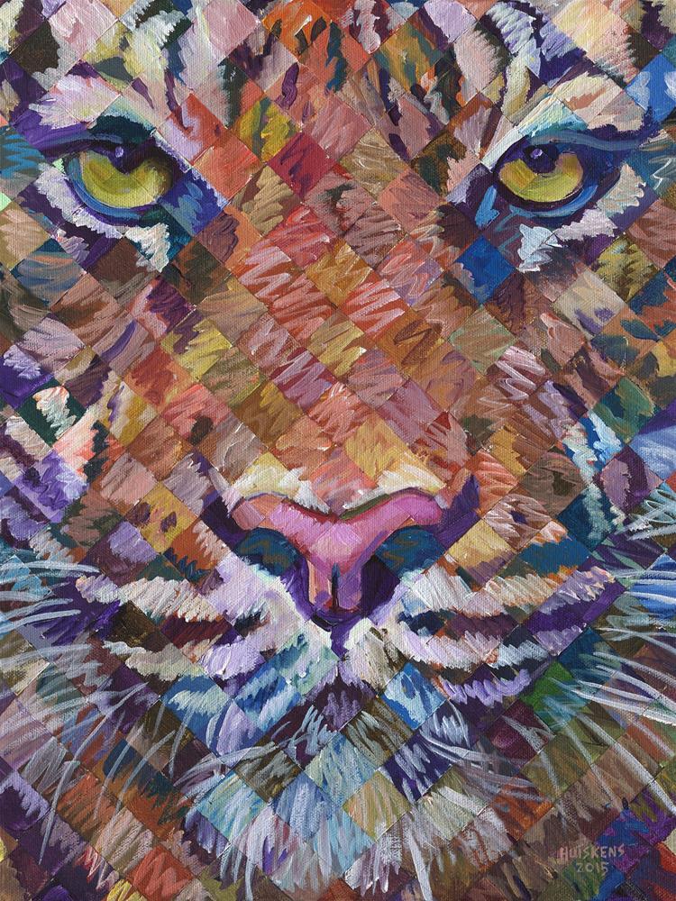 """Tiger #4"" original fine art by Randal Huiskens"