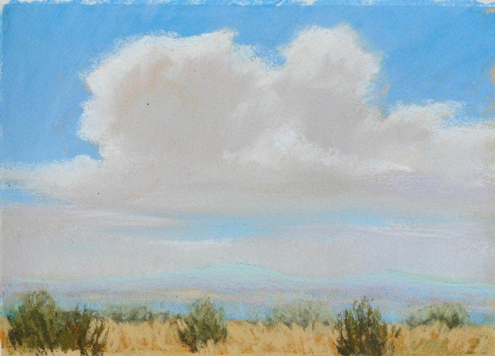 """""""Summer Sky"""" original fine art by Rita Kirkman"""