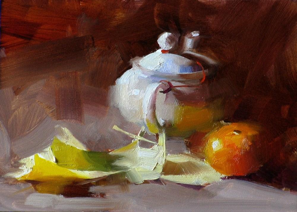 """Ginkgo Leaves"" original fine art by Qiang Huang"